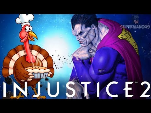 THE CRAZIEST THANKSGIVING FOR BIZARRO! - Injustice 2 Thanksgiving Multiverse Event With Bizarro!