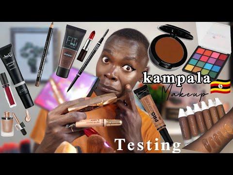Best makeup artist in kampala(uganda)🇺🇬 tests makeup from MULANGIRA jewelry store in kampala
