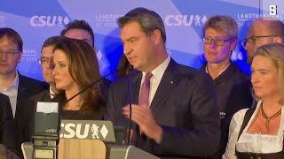 Bayern hat gewählt: CSU verliert klar ihre absolute Mehrheit