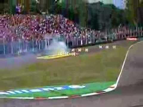 F1-2006 MONZA  ALONSO RETIRE
