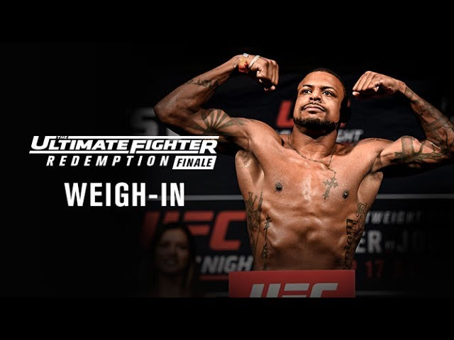 The Ultimate Fighter Redemption Finale: Official Weigh-in