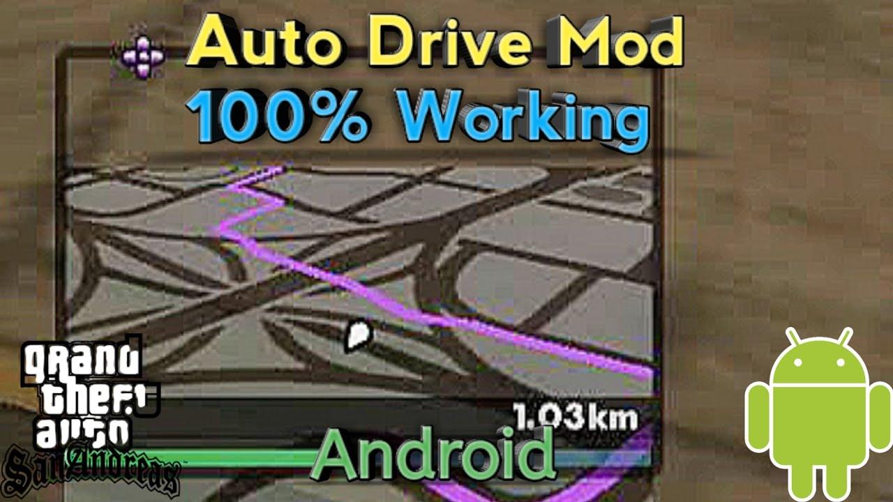 GPS MOD||•GTA SA ANDROID