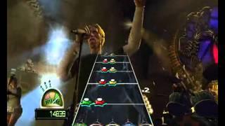Gameplay Guitar Hero World Tour