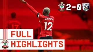 HIGHLIGHTS: Southampton 2-0 West Bromwich Albion | Premier League