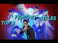 Top 8 Fighting Styles In Yakuza 0 (3K Sub Special)