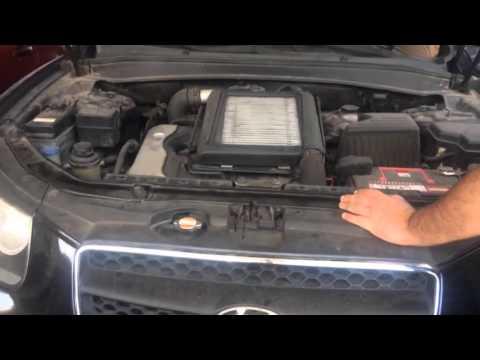 Falla De Motor Hyudai Santa F 233 2007 Diesel Crdi 2 2 Youtube