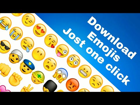 How to Download Emojis WhatsApp, messager, hike Emojis Jost one