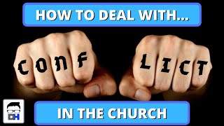 How To Deal With Conflict in the Church - Acts 15 - the Paul, Barnabas, Mark Controversy