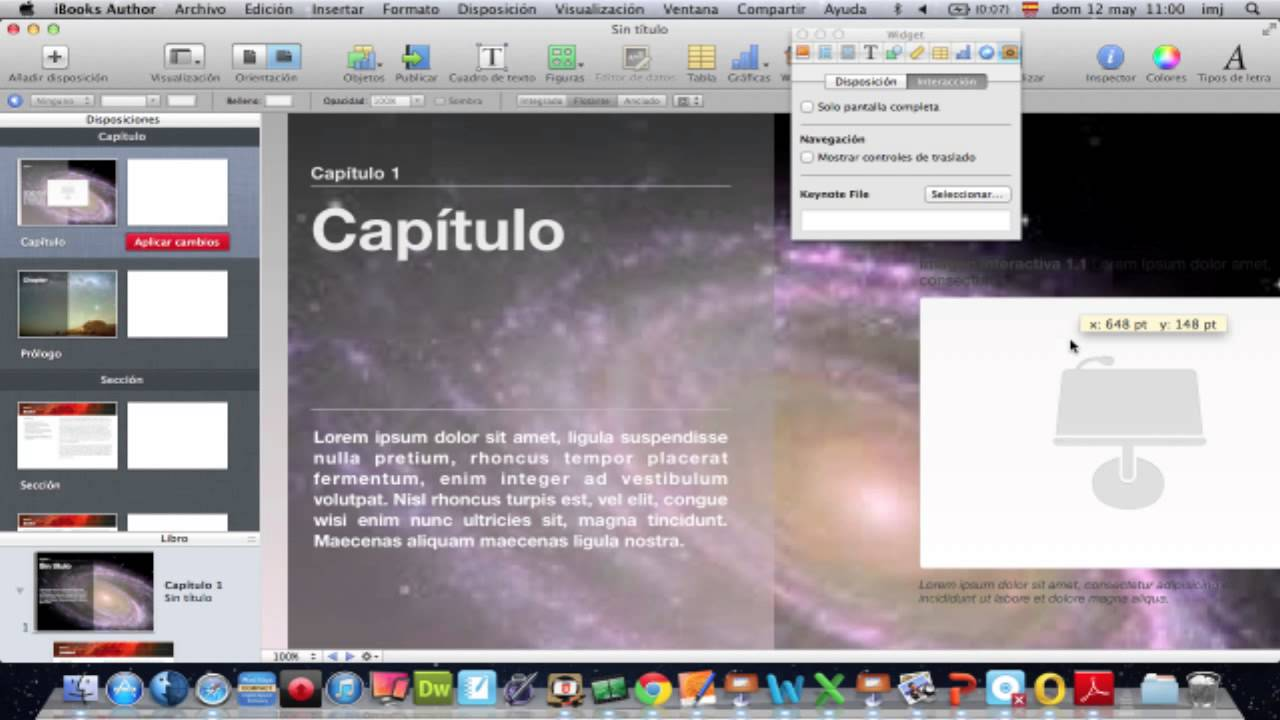 Plantillas en iBooks Author - YouTube