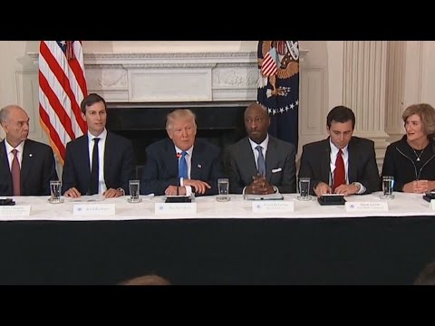 Trump Vows to Work With CEOs to Restore Manufacturing