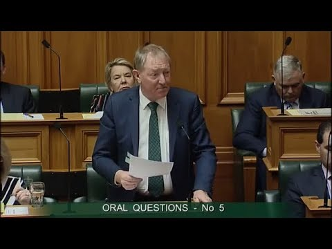 Question 5 - Phil Twyford to the Minister for Building and Construction