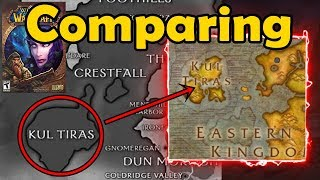 Vanilla WoW Game Manual Comparisons - Classes, Talents, and Maps - WCmini Facts
