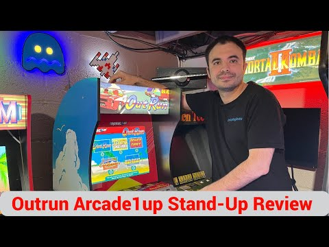Outrun Stand Up Edition Arcade1up Gameplay and Review - First Time Receiving Damage from UrGamingTechie