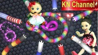 Trò chơi KN Channel BÚP BÊ ĐIỀU KHIỂN CON RẮN ĂN MỒI RẮN ĐIỆN PHÁT SÁNG CỰC MẠNH