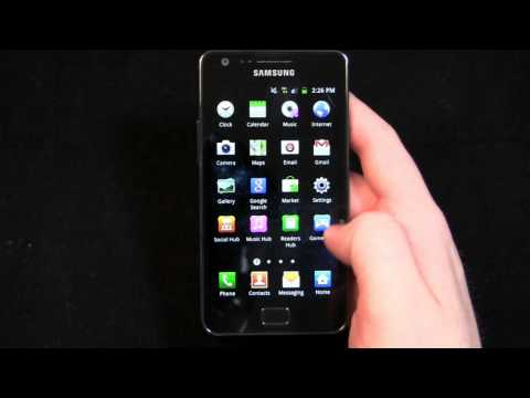 Samsung Galaxy S II Review Part 1