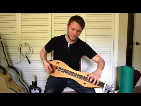 Test driving a new David Beede dulcimer