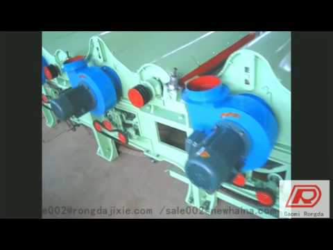 Textile waste cotton recyling machine line for non-woven with high output