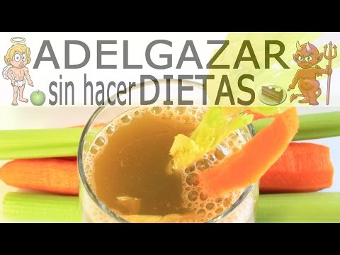 JUGO DE APIO Y ZANAHORIA # ADELGAZAR SIN HACER DIETAS