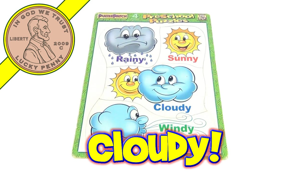 weather frame tray puzzle 2000 rainy sunny cloudy windy youtube