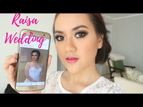 RAISA WEDDING MAKEUP TUTORIAL on acne face (with smokey eyes)