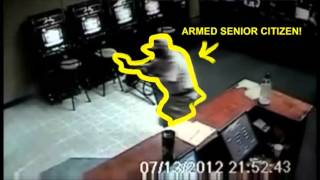 How to stop an armed robbery in progress (violent confrontation caught on video)
