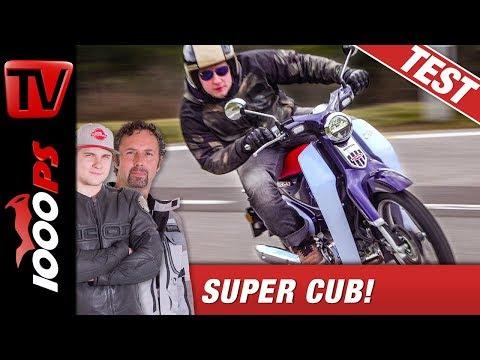 Honda Super Cub C125 Test - das Geheimnis des Erfolges!
