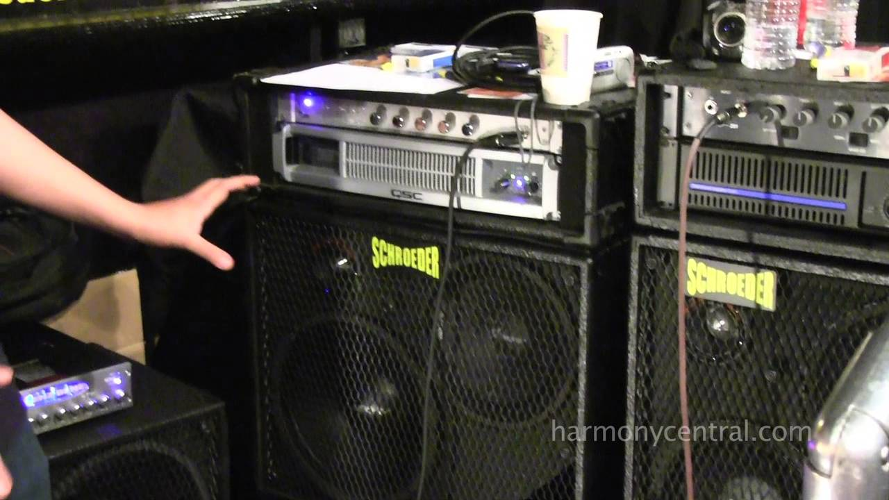 Bass Player Live 2012 - Schroeder Cabinets - YouTube