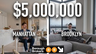 In this week's episode, brad and bchan compare two new developments located the upper east side, manhattan prospect heights, brooklyn listed for $5 mi...