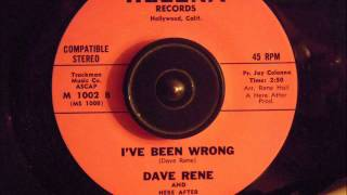dave rene   ive been wrong