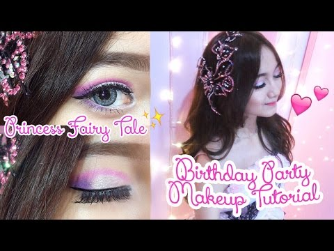 Princess Birthday Party Makeup Tutorial #MarvellaContest