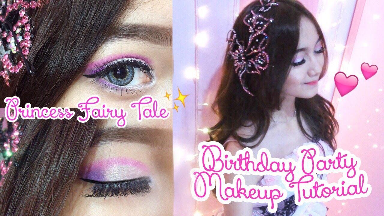 Princess Birthday Party Makeup Tutorial