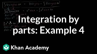 Integration by parts: º___cos(x)dx | AP Calculus BC | Khan Academy