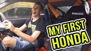 MY FIRST HONDA EXPERIENCE! - K Swapped EK Civic