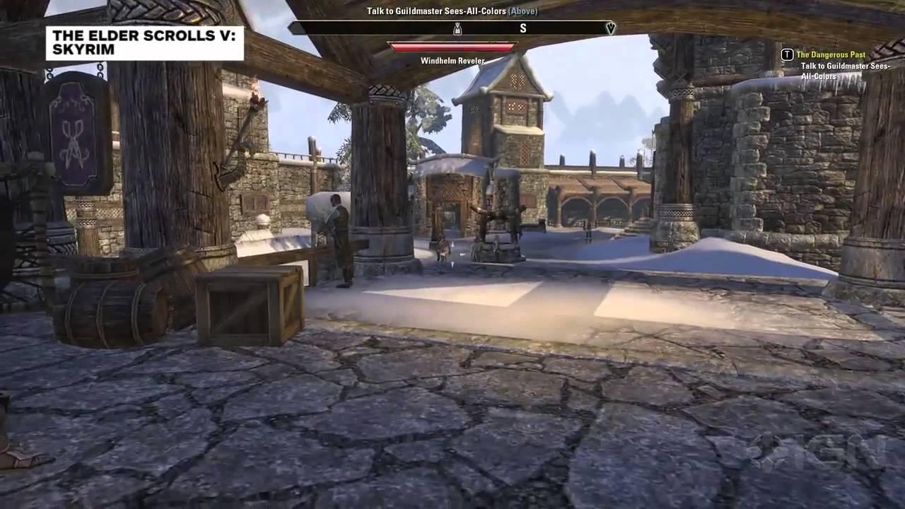 The Elder Scrolls Online vs  Skyrim: Comparing Windhelm