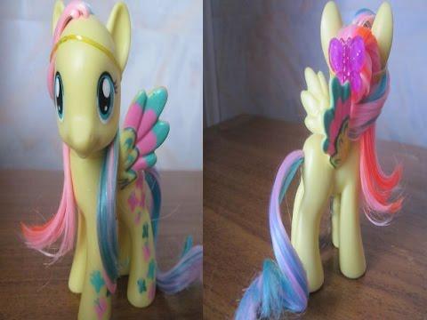 Hairstyles: Прическа для пони Флаттершай