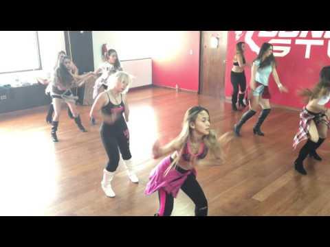 Dance UP Studio  Capitanas Dancers 2016  Ensayo