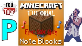 Epic Sax Guy con i note blocks-Minecraft tutorial