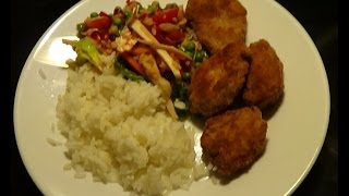 1001 Nights Salad With Nuggets