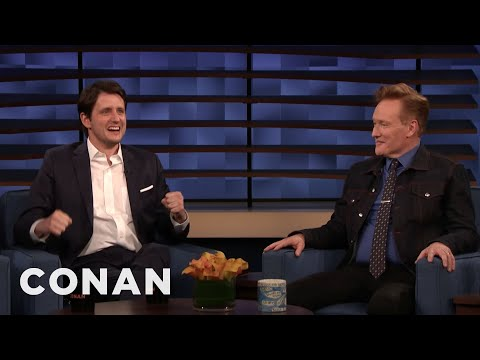 "Zach Woods Wants To Promote ""Ford v Ferrari"" - CONAN on TBS"