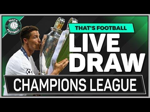 UEFA Champions League LIVE Quarter Final Draw Watchalong