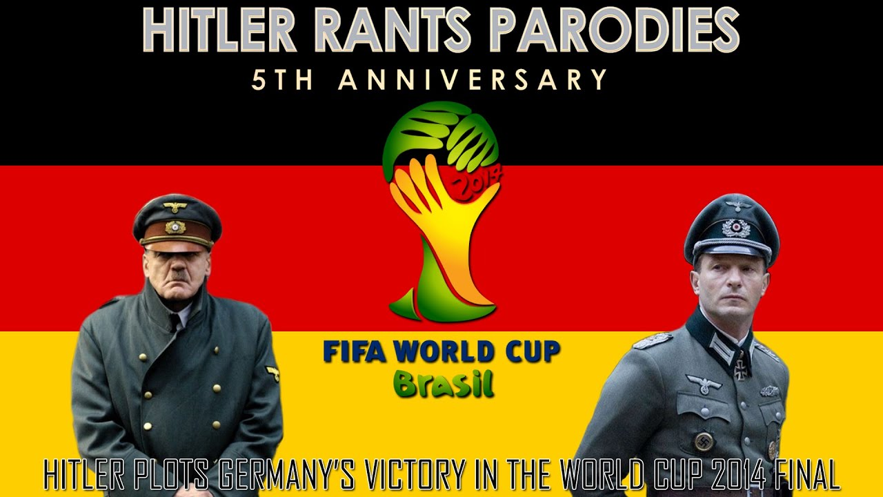 Hitler plots Germany's victory in the World Cup 2014 Final