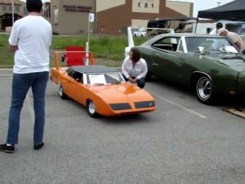 1970 plymouth superbird 1/2 scale gocart