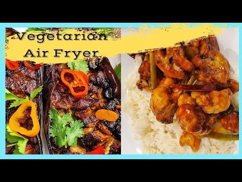 Healthy Vegetarian Air Fryer Recipes    Ninja Foodi XL Grill and 10 quart Instant Pot Vortex Oven