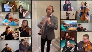 Mozart: Clarinet Concerto in A Major, Mvt II | HPO Virtual Orchestra