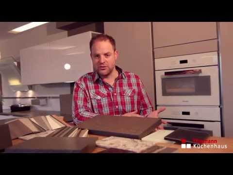 Küchenarbeitsplatten – Holz   Kunststoff   Glas   Granit   Quarz   Keramik   Grauwacke
