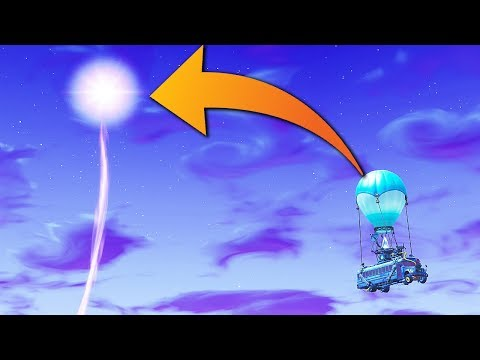 THE END of the Fortnite Map... (CUBE EVENT)