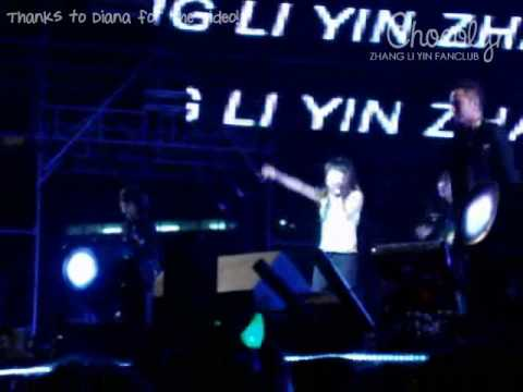 2009.02.07 SMTOWN Bangkok - Zhang Li Yin - One More Try Fancam [Diana@Chocolyn]