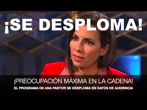¡DESESPERACIÓN Y NERVIOS EN LA SEXTA: EL PROGRAMA DE ANA PASTOR CAE EN PICADO!