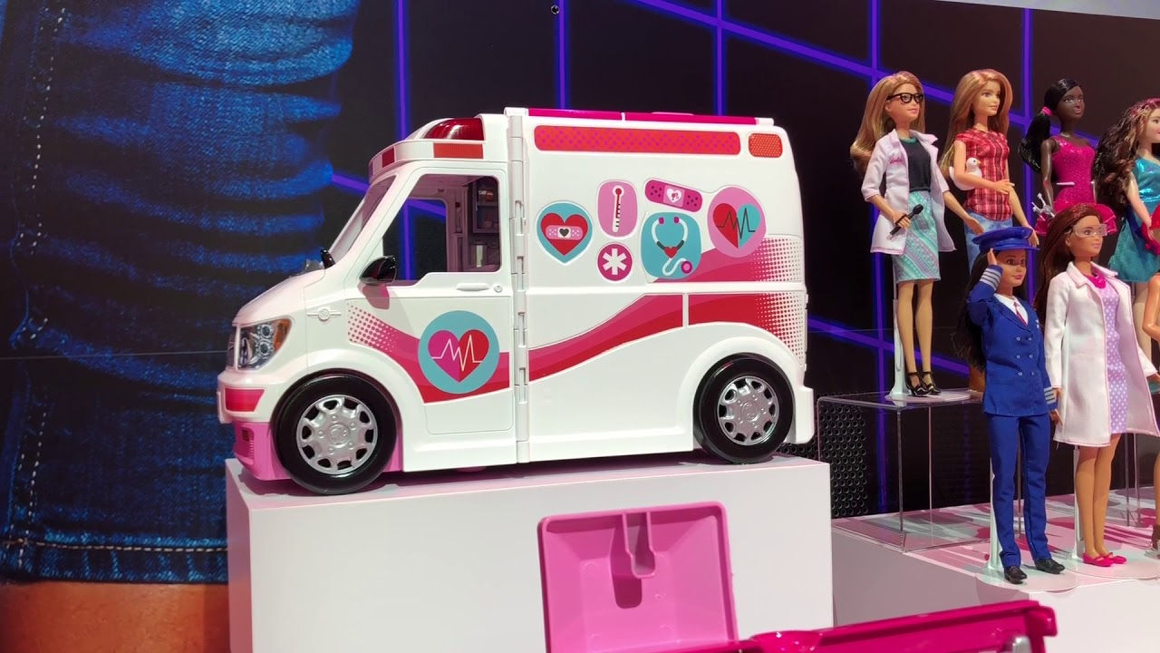 competitive price top fashion wholesale outlet NEW Barbie Ambulance Care Clinic Vehicle