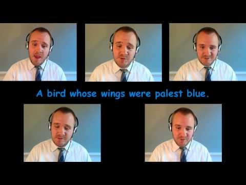 The Blue Bird - sung by Matthew Curtis (Charles Stanford)